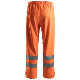 Snickers 8243 Spodnie Przeciwdeszczowe Odblaskowe, EN 20471/2