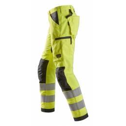 Snickers 6332 LiteWork Odblaskowe spodnie robocze +, EN 20471/2
