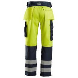 Snickers 3333 Spodnie odblaskowe, EN 20471/2