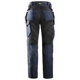Snickers 6701  AllroundWork Spodnie robocze z workami kieszeniowymi – damskie