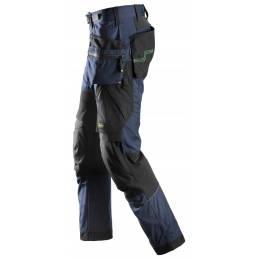 Snickes 6902 FlexiWork Spodnie robocze z workami kieszeniowymi