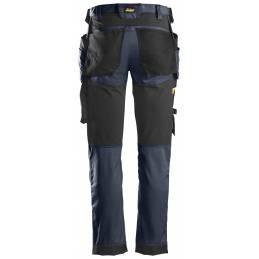 Snickers 6241 AllroundWork Spodnie Stretch z workami kieszeniowymi