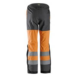 Snickers 6530 AllroundWork Spodnie Odblaskowe Przeciwdeszczowe Shell, EN 20471/2